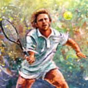 Boris Becker Art Print