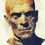 Boris Karloff, The Mummy Art Print