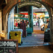 Borough Market Art Print