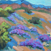 Borrego Springs Verbena Art Print