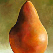 Bosc Pear Art Print