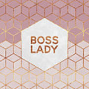 Boss Lady Art Print