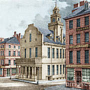 Boston, 19th Century Art Print