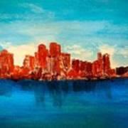Boston Abstract Art Print