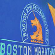 Boston Athletic Association - Boston Marathon Art Print