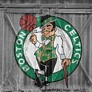 Boston Celtics Barn Doors Art Print