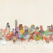 Boston City Art Print