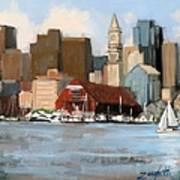 Boston Harbor Art Print