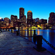 Boston Harbor Walk Art Print