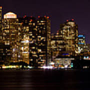 Boston Massachusetts - Panoramic Art Print
