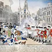 Boston Massacre, 1770 Art Print