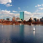 Boston On The Charles  Art Print