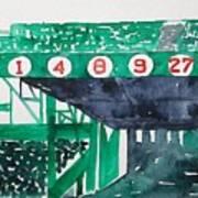 Boston Retired Numbers Art Print
