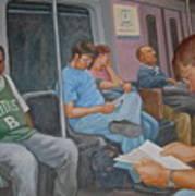Boston Subway Art Print