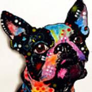 Boston Terrier II Art Print by Dean Russo