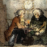 Boswell And Johnson, 1786 Art Print
