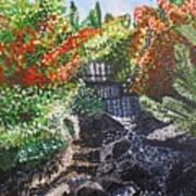 Botanic Garden Merano 1 Art Print