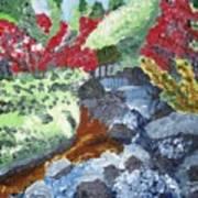 Botanic Garden Merano 2 Art Print