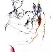 Both Faces Art Print