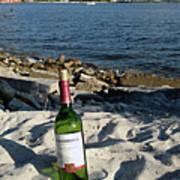 Bottled Beach Art Print