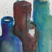 Bottles 3  Art Print