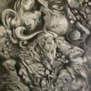 Bottles Of Demons Art Print