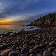 Boulder Beach Sunrise Art Print