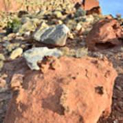 Boulders Above Camprground Art Print