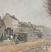 Boulevard H?lo?se, Argenteuil Art Print