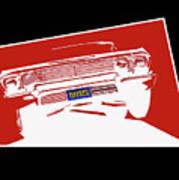 Bounce. '63 Impala Lowrider. Art Print