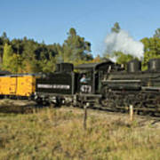 Bound For Durango Print by Jerry McElroy