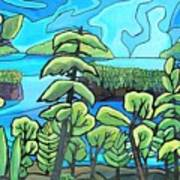 Boundary Waters Art Print