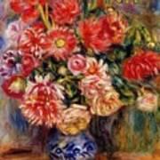 Bouquet 1913 Art Print