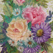 Bouquet 2 Art Print