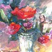Bouquet De Chez Moi 01 Art Print
