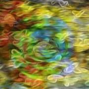 Bouquet Downstream Art Print