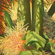 Bouquet Of Palm Art Print