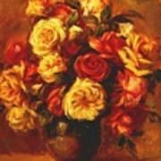 Bouquet Of Roses 1 Art Print