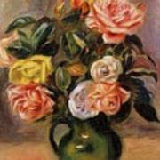 Bouquet Of Roses 2 Art Print
