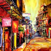 Bourbon Street Dazzle Art Print