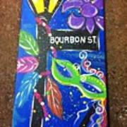 Bourbon Street Original Art Print