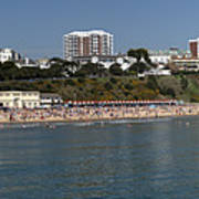 Bournemouth Beaches Art Print