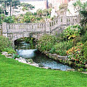 Bournemouth Lower Gardens Art Print