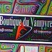 Boutique Du Vampyre -  New Orleans Art Print