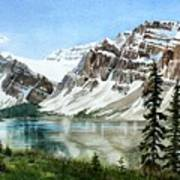 Bow Lake Alberta No.2 Art Print