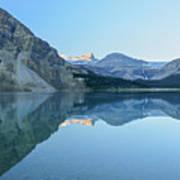 Bow Lake Panorama Art Print