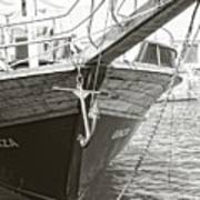 Bow Of The Boat Art Print
