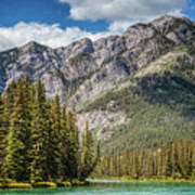 Bow River Banff Alberta Art Print