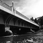 Bow River Bridge  Art Print