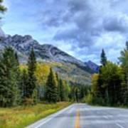 Bow Valley Parkway Banff National Park Alberta Canada Vi Art Print